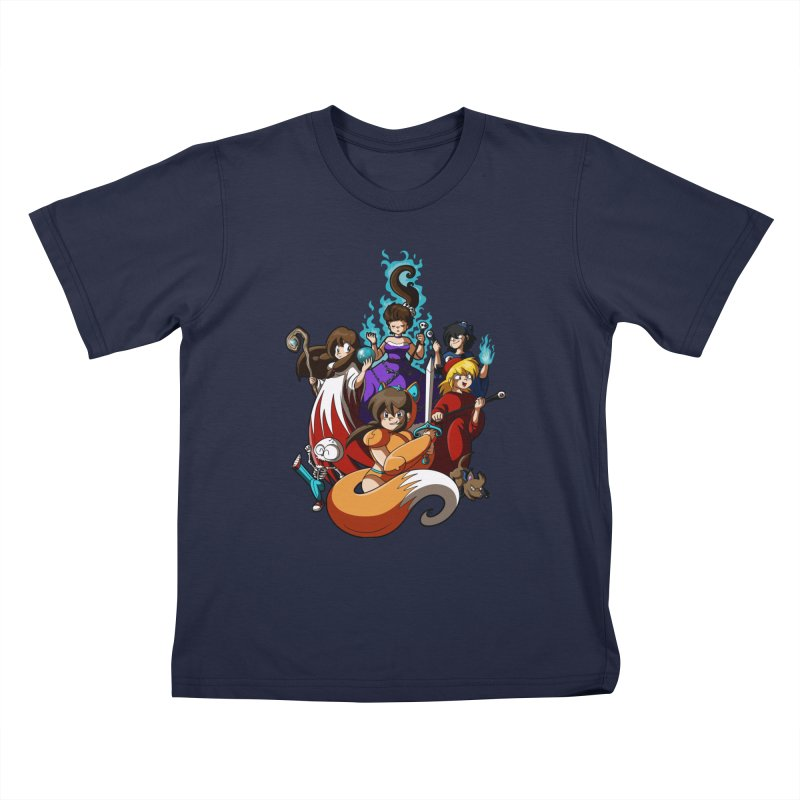 The Sword That Cuts Things Kids T-Shirt by Kappacino Creations