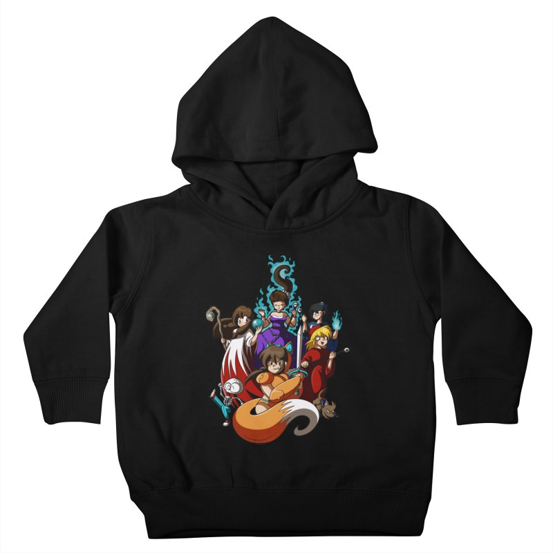 The Sword That Cuts Things Kids Toddler Pullover Hoody by Kappacino Creations
