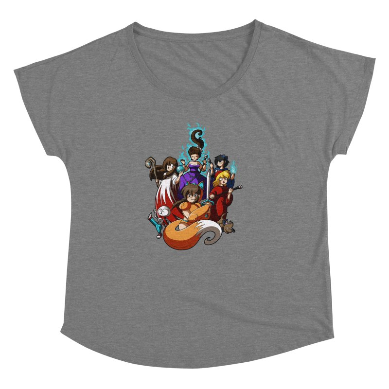 The Sword That Cuts Things Women's Dolman Scoop Neck by Kappacino Creations