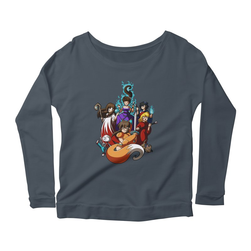 The Sword That Cuts Things Women's Longsleeve T-Shirt by Kappacino Creations