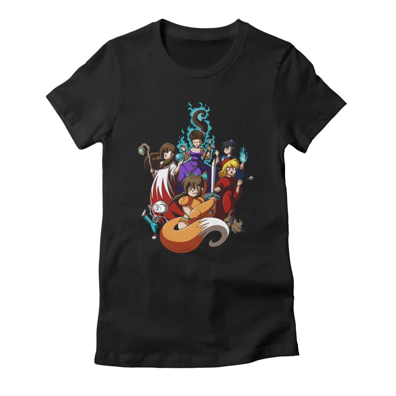 The Sword That Cuts Things Women's T-Shirt by Kappacino Creations