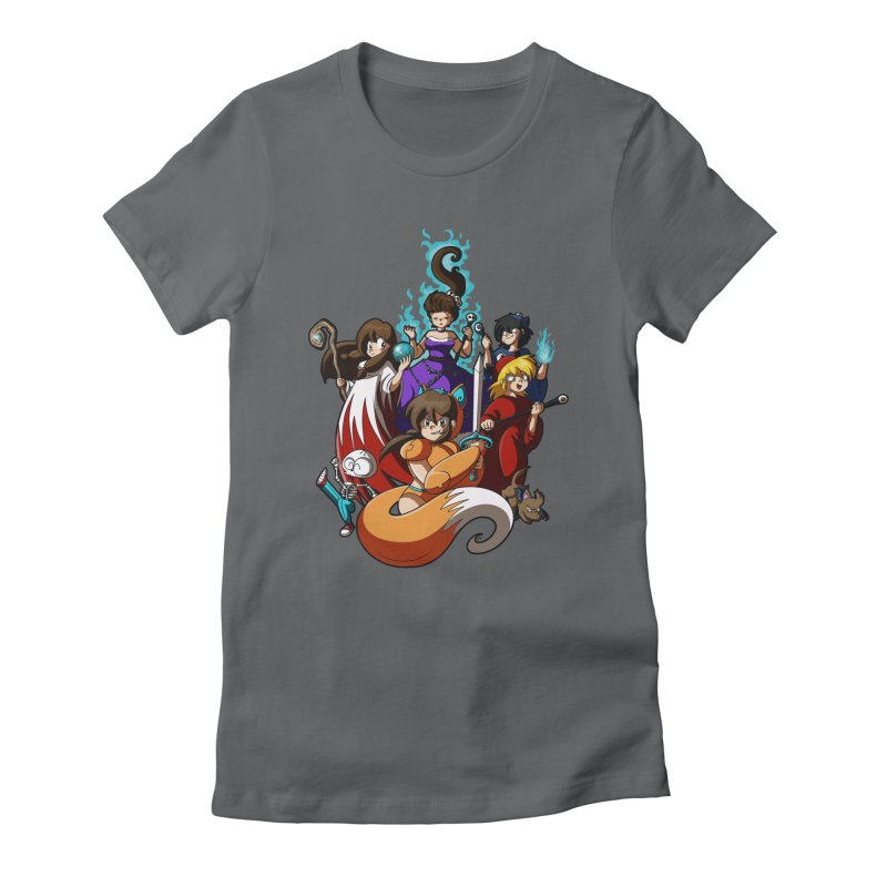 The Sword That Cuts Things Women's Fitted T-Shirt by Kappacino Creations