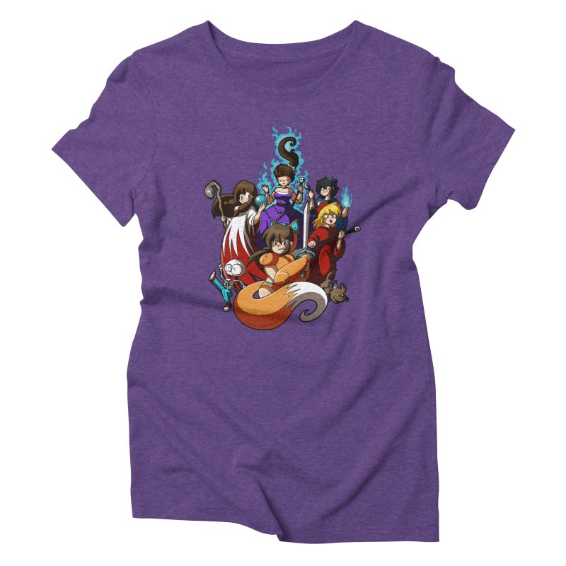 The Sword That Cuts Things Women's Triblend T-Shirt by Kappacino Creations