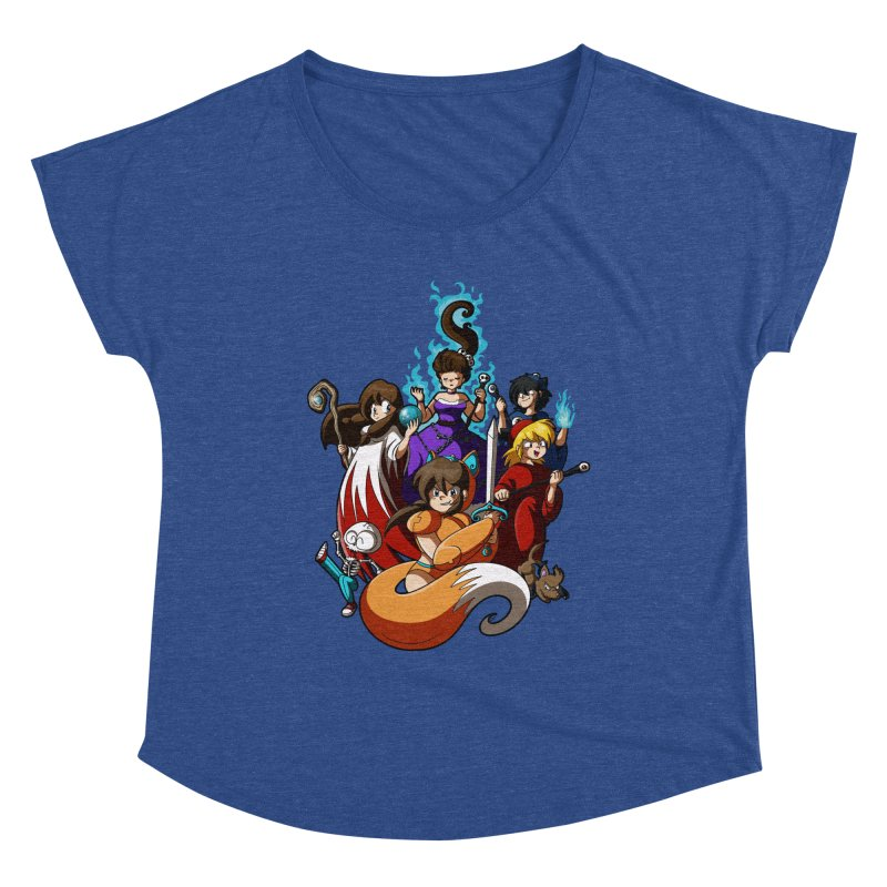 The Sword That Cuts Things Women's Scoop Neck by Kappacino Creations