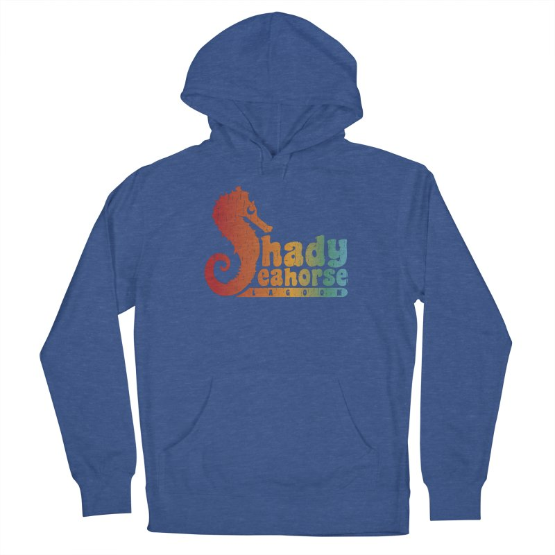 Shady Seahorse Lagoon Women's Pullover Hoody by Kappacino Creations