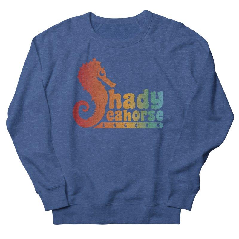 Shady Seahorse Lagoon Women's Sweatshirt by Kappacino Creations