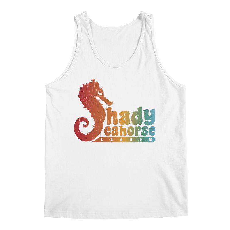 Shady Seahorse Lagoon Men's Tank by Kappacino Creations