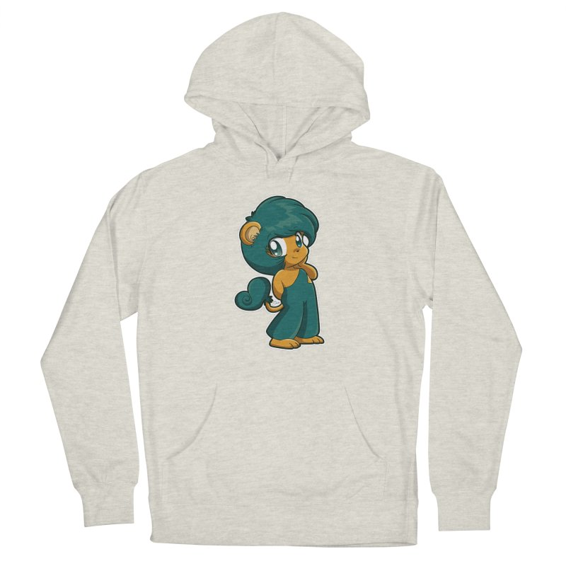 Orion the Lion Men's Pullover Hoody by Kappacino Creations