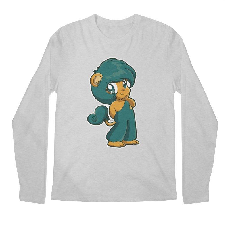 Orion the Lion Men's Regular Longsleeve T-Shirt by Kappacino Creations