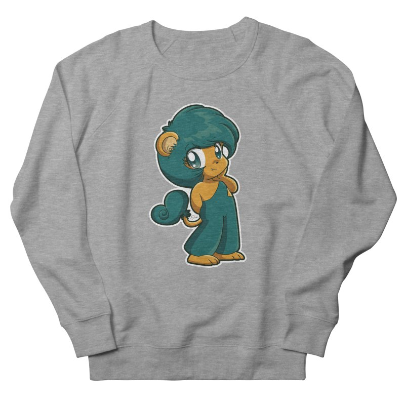 Orion the Lion Men's French Terry Sweatshirt by Kappacino Creations