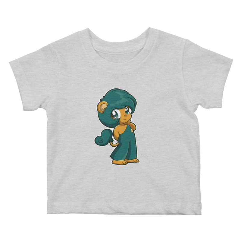Orion the Lion Kids Baby T-Shirt by Kappacino Creations