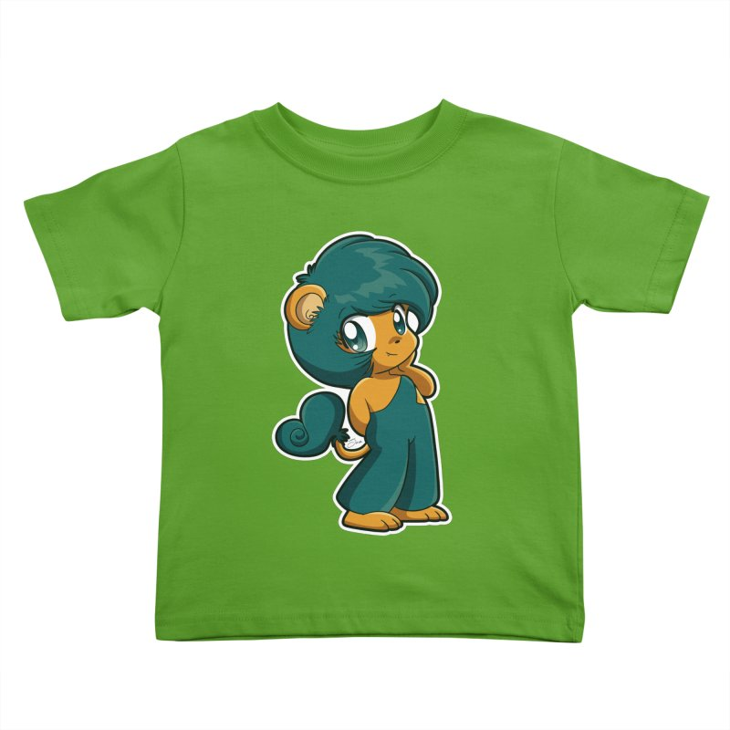 Orion the Lion Kids Toddler T-Shirt by Kappacino Creations