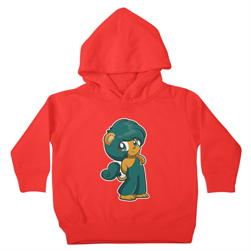Orion the Lion Kids Toddler Pullover Hoody by Kappacino Creations