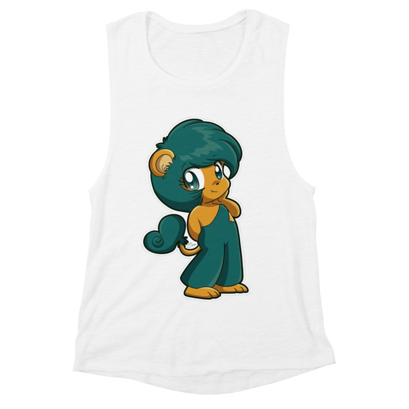 Orion the Lion Women's Muscle Tank by Kappacino Creations