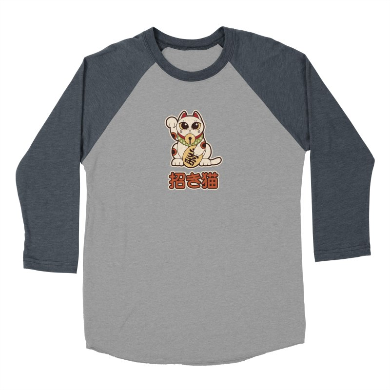 Maneki Neko Women's Longsleeve T-Shirt by Kappacino Creations