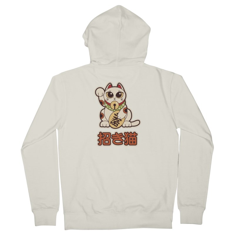 Maneki Neko Women's Zip-Up Hoody by Kappacino Creations