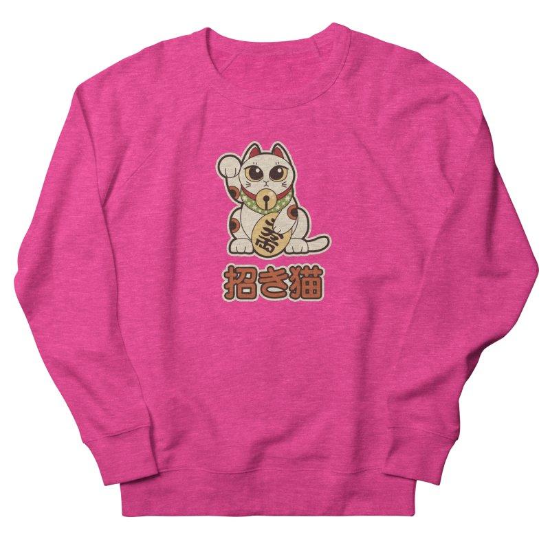 Maneki Neko Women's Sweatshirt by Kappacino Creations