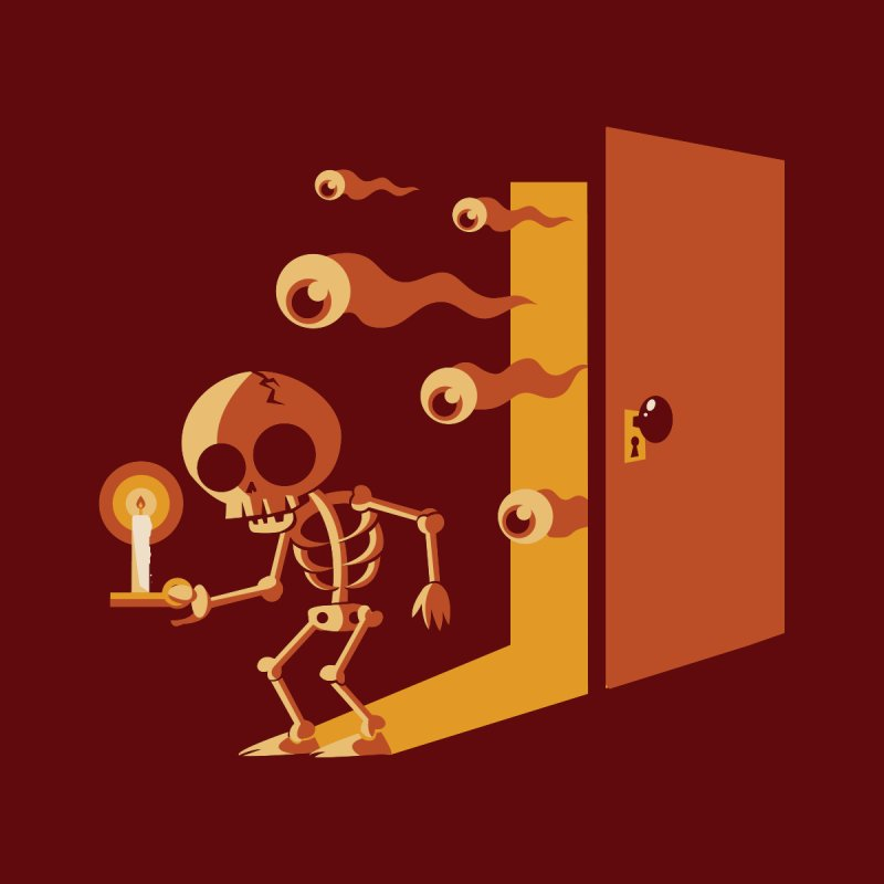 Skeletons in my Closet None  by Kappacino Creations