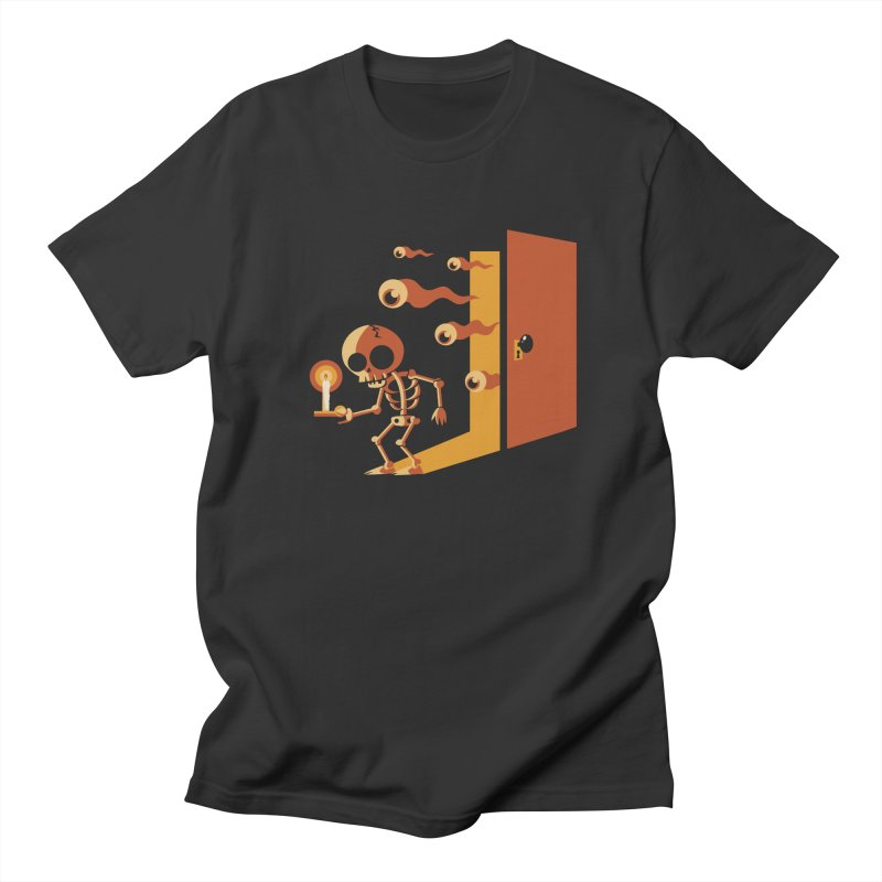 Skeletons in my Closet Men's T-Shirt by Kappacino Creations