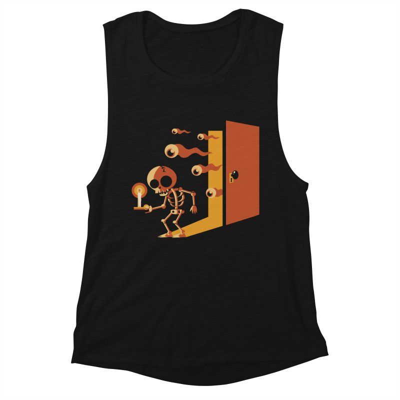 Skeletons in my Closet Women's Tank by Kappacino Creations
