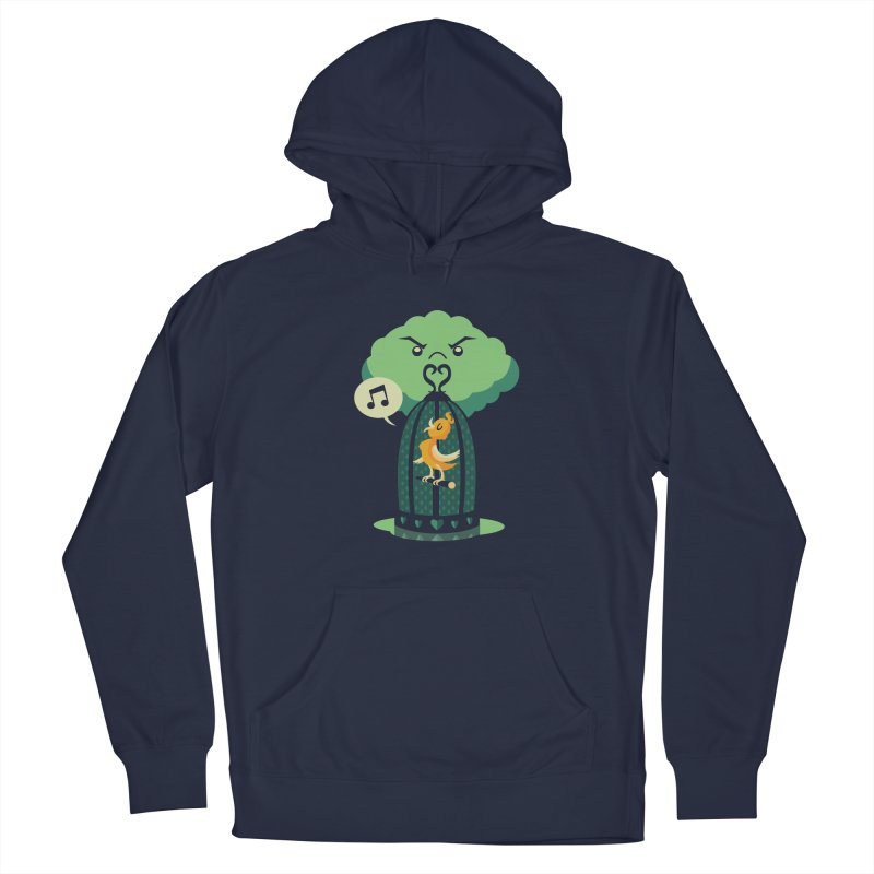 The Caged Bird Men's Pullover Hoody by Kappacino Creations