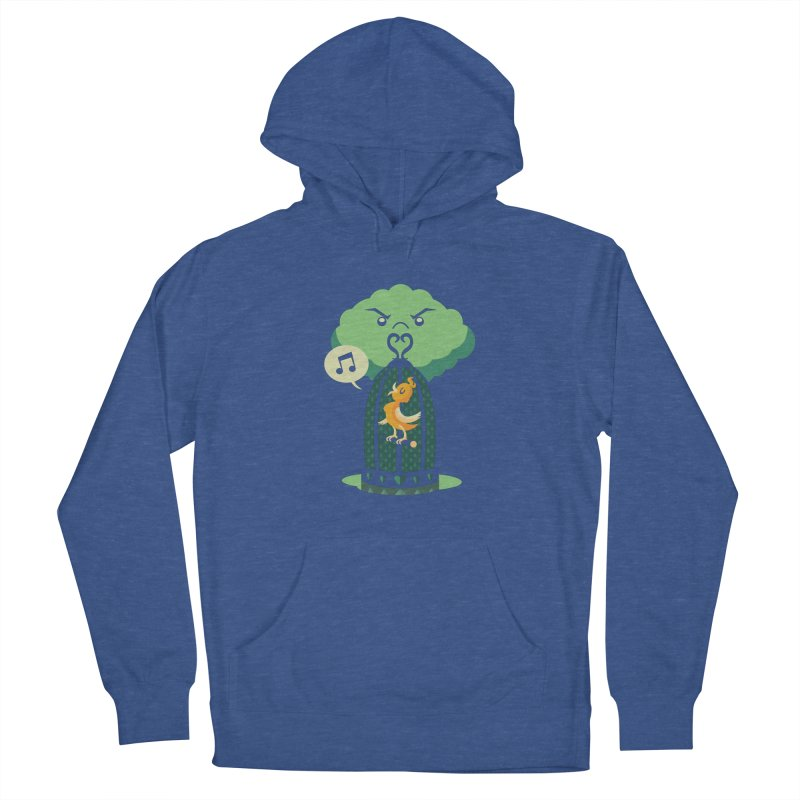 The Caged Bird Women's Pullover Hoody by Kappacino Creations