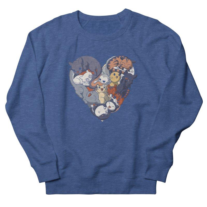 I Heart Cats! Women's Sweatshirt by Kappacino Creations