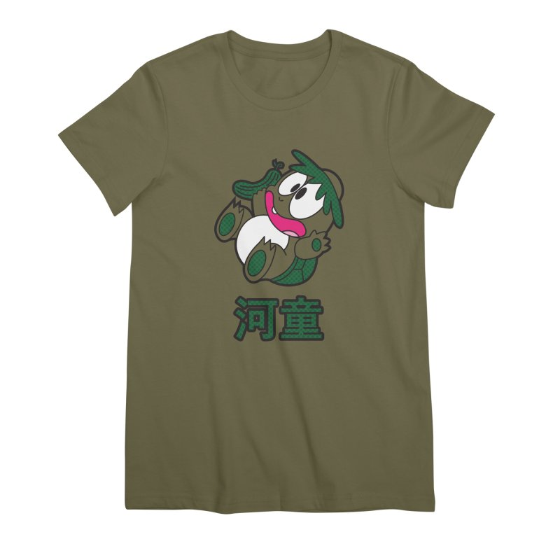 The Little Kappa Women's Premium T-Shirt by Kappacino Creations