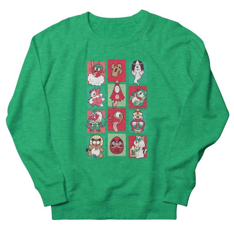 Things That Go Bump In Japan Women's Sweatshirt by Kappacino Creations