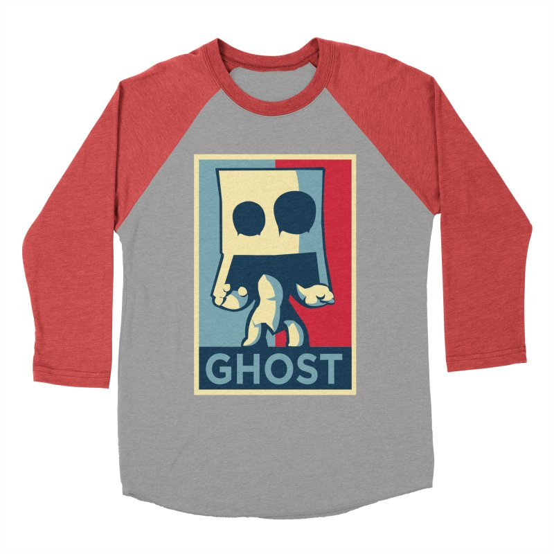 The Politics of BoxGhost Men's Longsleeve T-Shirt by Kappacino Creations