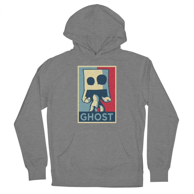 The Politics of BoxGhost Women's Pullover Hoody by Kappacino Creations