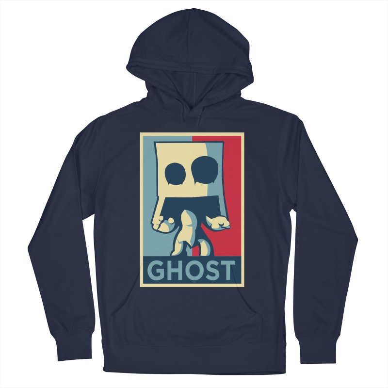 The Politics of BoxGhost Men's Pullover Hoody by Kappacino Creations