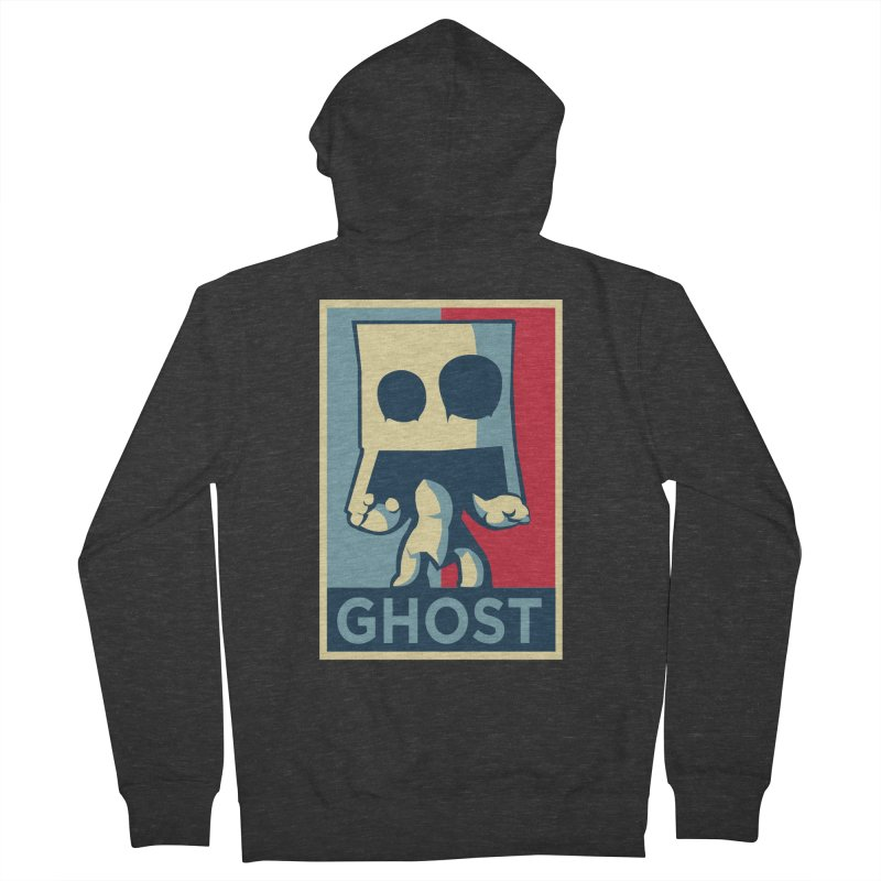 The Politics of BoxGhost Women's Zip-Up Hoody by Kappacino Creations