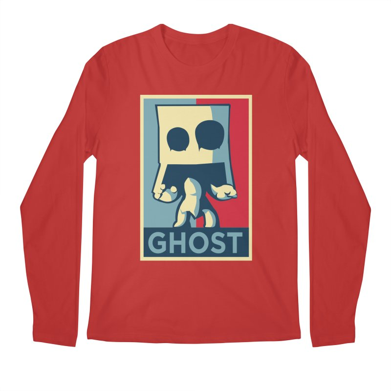 The Politics of BoxGhost Men's Regular Longsleeve T-Shirt by Kappacino Creations