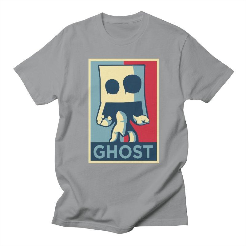 The Politics of BoxGhost Men's T-shirt by Kappacino Creations