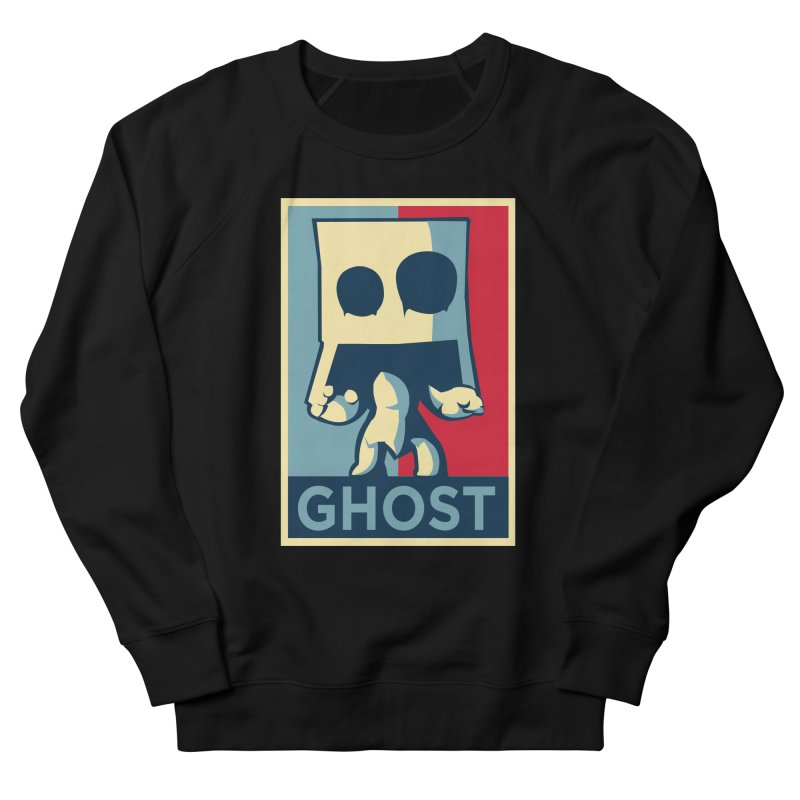The Politics of BoxGhost Men's Sweatshirt by Kappacino Creations