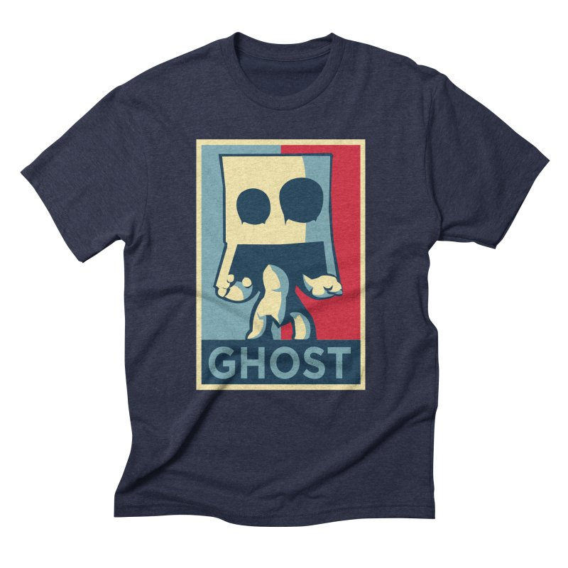 The Politics of BoxGhost Men's Triblend T-shirt by Kappacino Creations