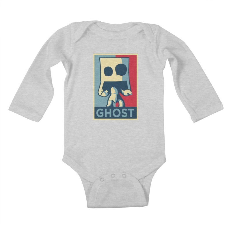 The Politics of BoxGhost Kids Baby Longsleeve Bodysuit by Kappacino Creations