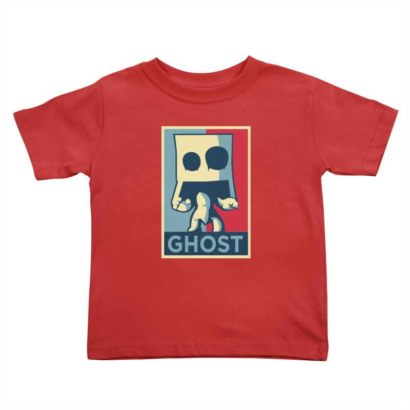 The Politics of BoxGhost Kids Toddler T-Shirt by Kappacino Creations