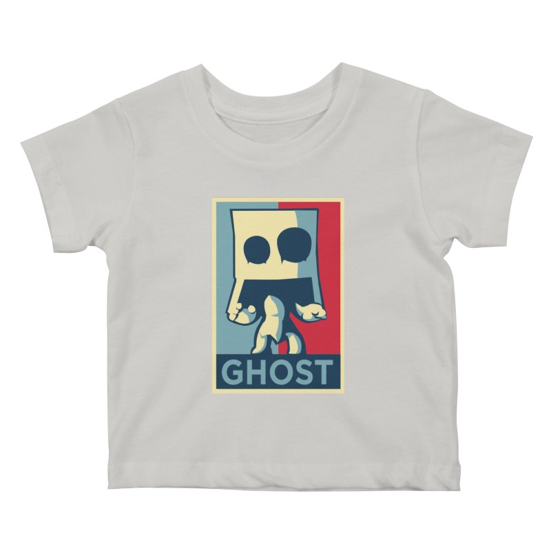 The Politics of BoxGhost Kids Baby T-Shirt by Kappacino Creations