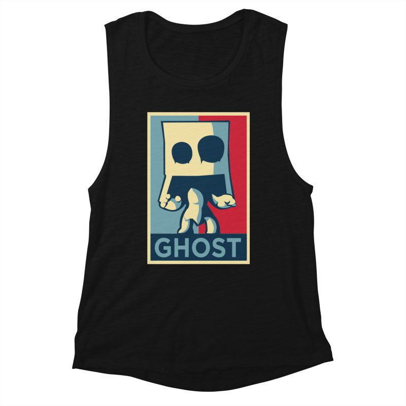 The Politics of BoxGhost Women's Tank by Kappacino Creations
