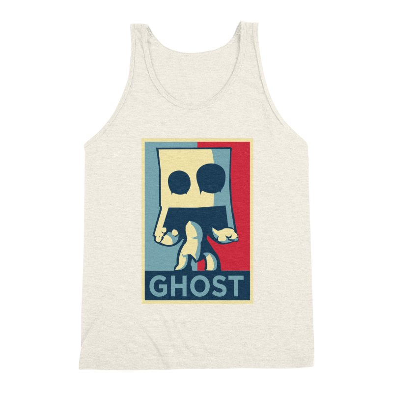 The Politics of BoxGhost Men's Triblend Tank by Kappacino Creations