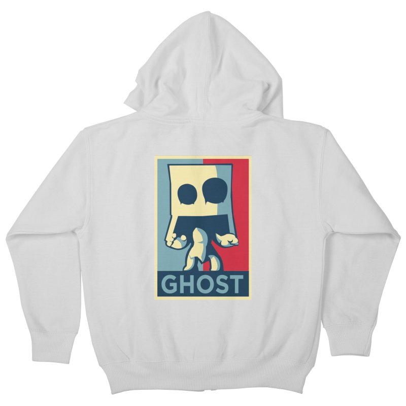 The Politics of BoxGhost Kids Zip-Up Hoody by Kappacino Creations