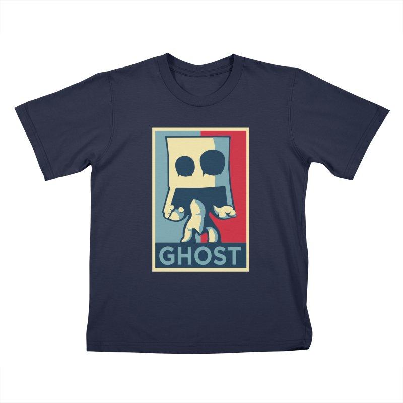 The Politics of BoxGhost Kids T-Shirt by Kappacino Creations