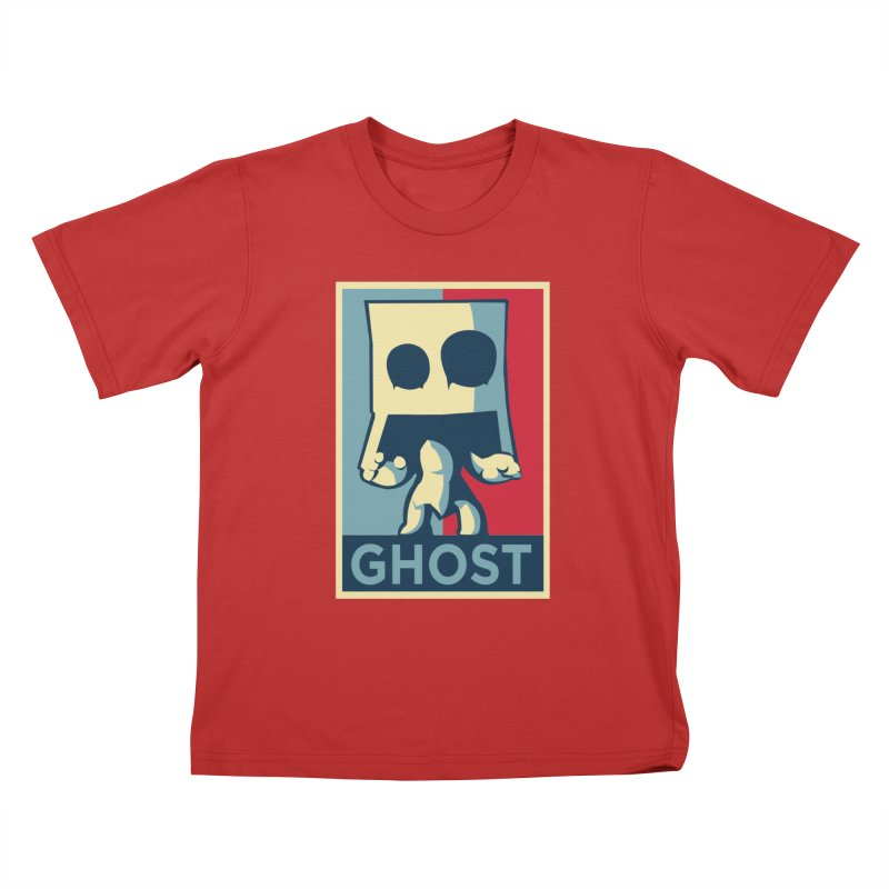 The Politics of BoxGhost Kids T-Shirt by Kappacino Creations