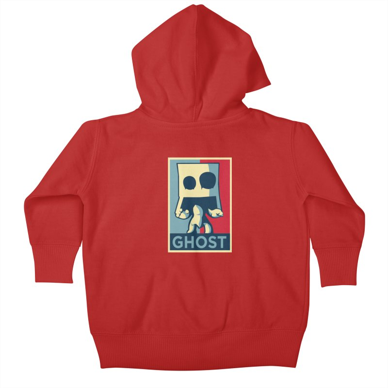 The Politics of BoxGhost Kids Baby Zip-Up Hoody by Kappacino Creations