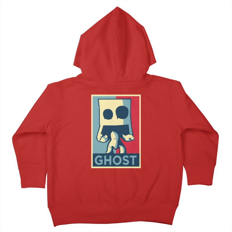 The Politics of BoxGhost Kids Toddler Zip-Up Hoody by Kappacino Creations