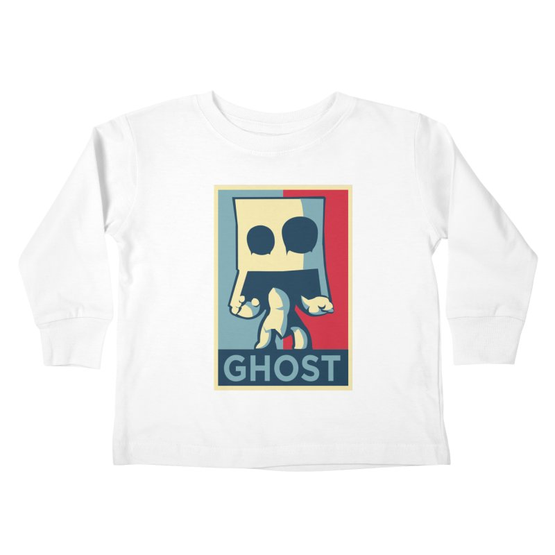 The Politics of BoxGhost Kids Toddler Longsleeve T-Shirt by Kappacino Creations