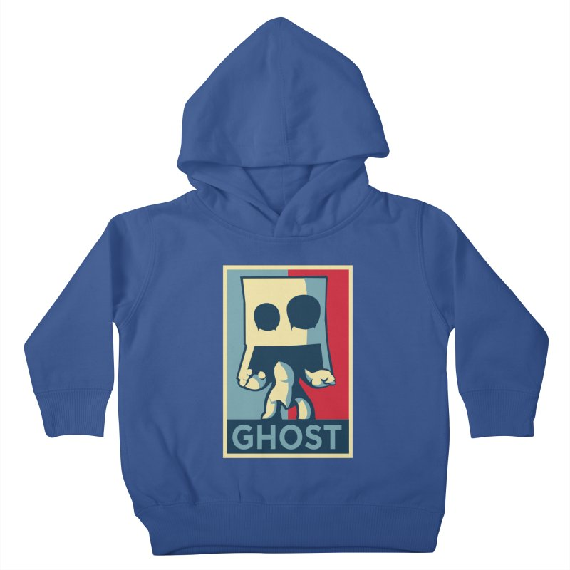 The Politics of BoxGhost Kids Toddler Pullover Hoody by Kappacino Creations