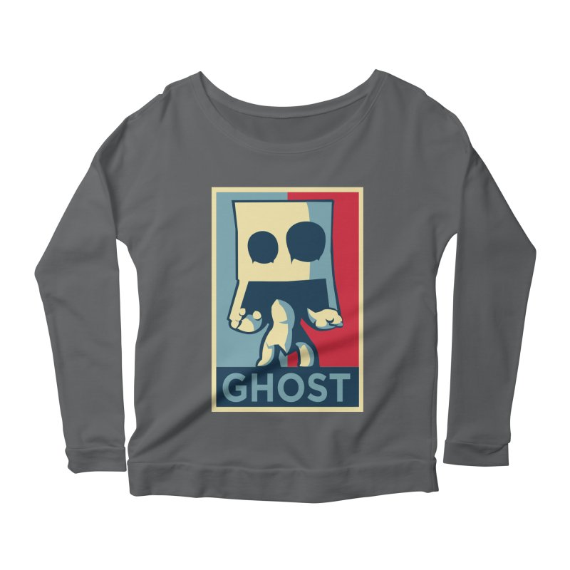 The Politics of BoxGhost Women's Longsleeve T-Shirt by Kappacino Creations